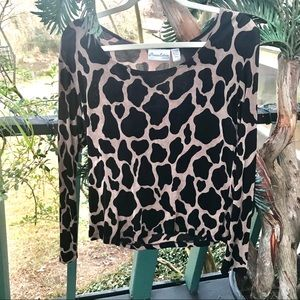 Leopard Print Top from Private Collection Chico's